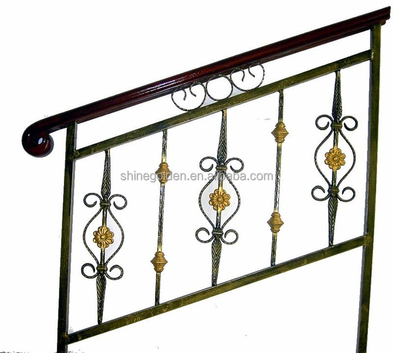 Outdoor Metal Stair Railing/Stair Glass Railing Prices/Stair Railing