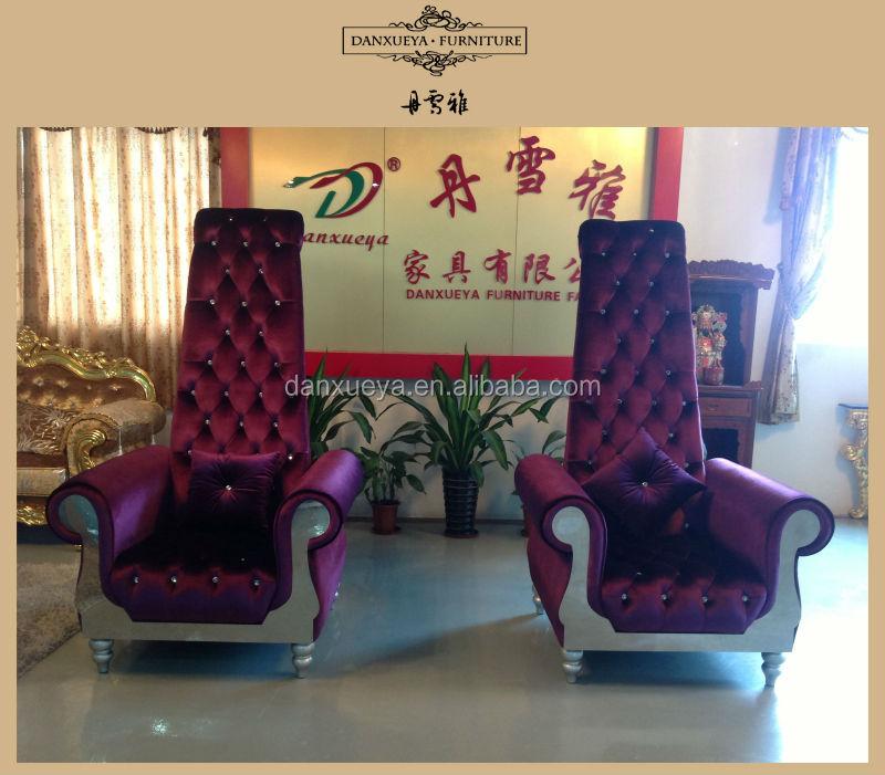 Danxueya Living Room Furniture,High Back Sofa Chair,High Back Antique Sofa  - Buy Living Room Furniture Purple Sofa,High Back Chairs For Living  Room,Long ... - Danxueya Living Room Furniture,High Back Sofa Chair,High Back