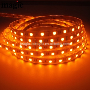 NEW IP65 Waterproof 600nm amber led strip 5050