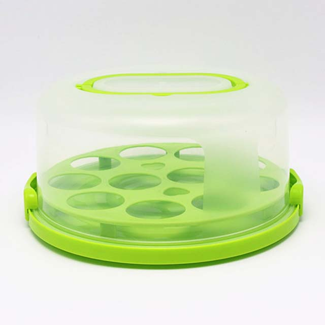 Ronde Plastic Cup Cake Carrier Groothandel