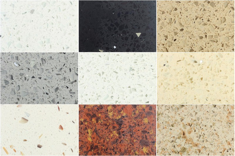 White Star Sparkle Colors Quartz Stone Countertop Buy