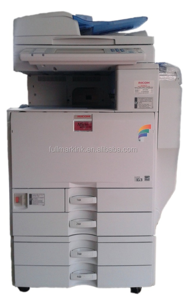 used photocopier machine price ricoh c5000 color Multifunction printer scanner copier
