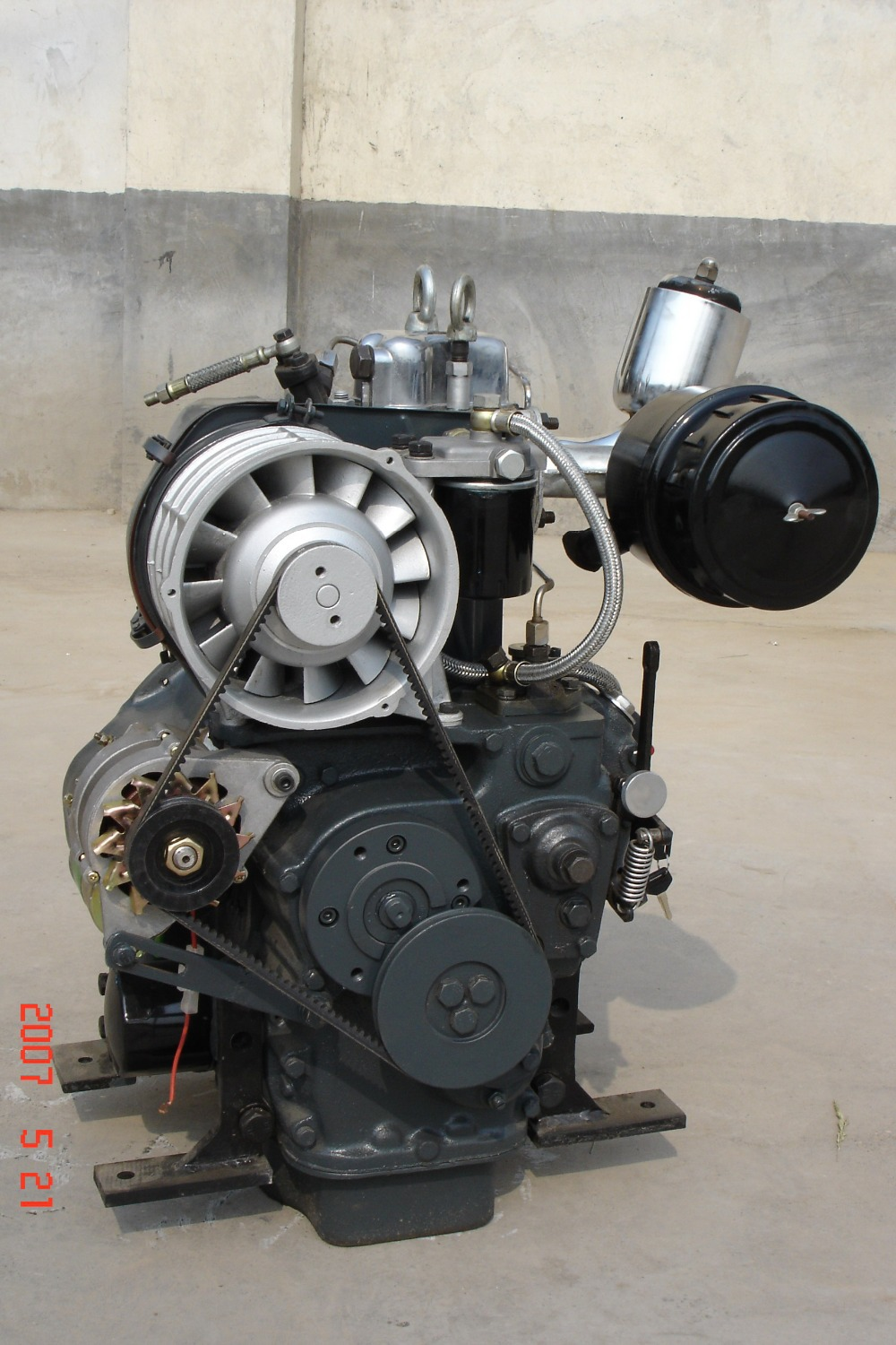 Deutz Mwm Air Cooled Single Cylinder Small 8hp Diesel