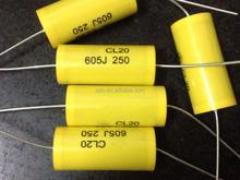 CL20 6UF 250V 605J Metallized Polyester Film Capacitor