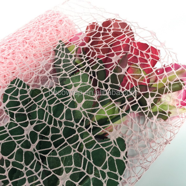 Flower Package Cheap Big Spider Mesh