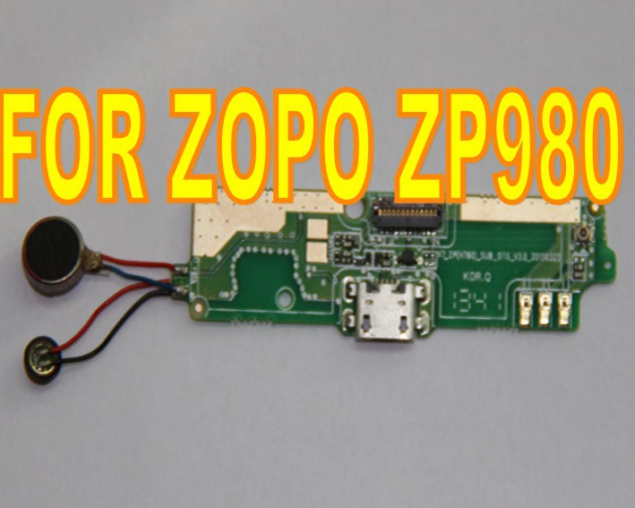 В отвечающий условиям ZOPO 980 суб - доска с USB разъем ZOPO ZP980 загрузочного люка
