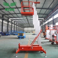 200kg Towable type aluminum stage platfrm vertican one man lifting equipment aluminum lifter