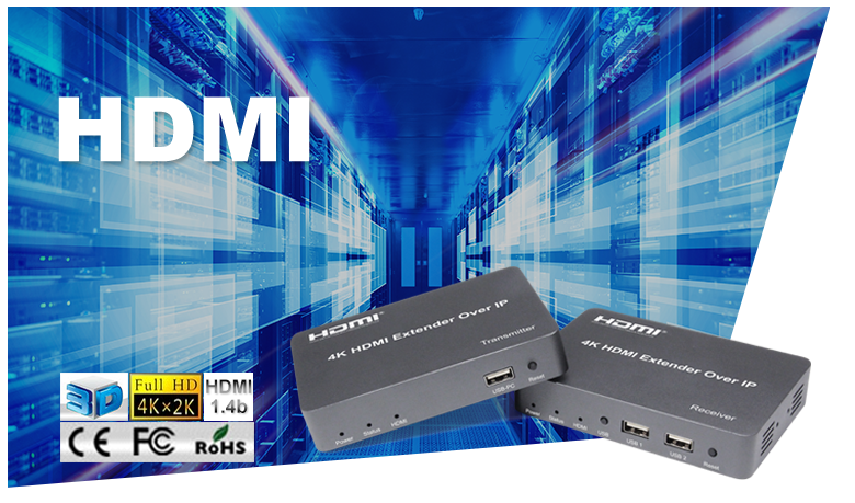 theatre 4K 150M HDMI extender with KVM