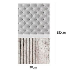 Durable 3x5ft Vinyl Wood Floor Photography Backdrops Studio Individual Photo Props Photographic Background cloth 90x150cm