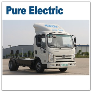 Electric light truck chassis for sale