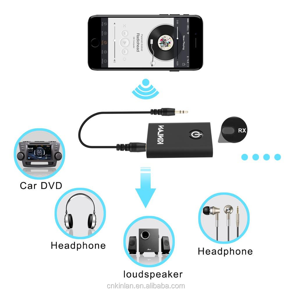 Hotselling 2017 amazon 2 In 1 Bluetooth Receiver And Transmitter For phone And Tv And Pc