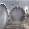 Commercial pressure cooker for tin cans food processing