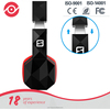 Factory Direct Sell Bluetooth Headset Bass Wireless Headphone with Microphone