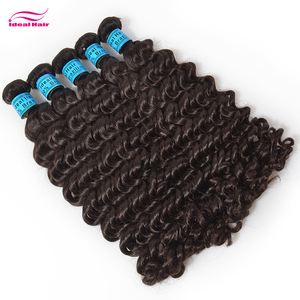 KBL wholesale human 18 virgin brazilian deep wave hair extensions dropship,brazilian hair imported,100 grams of brazilian hair