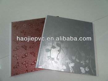 Laminated Pvc Wall Panel Designs For Bedroom Or Plastic Panels For