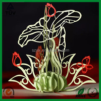 custom design 3d greeting card for christmas and birthday make by paper for kids