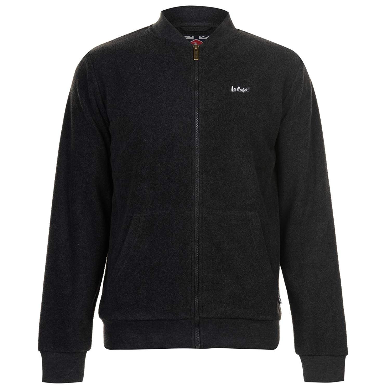 Lee Cooper Mens Cooper Full Zip Fleece Top Jacket