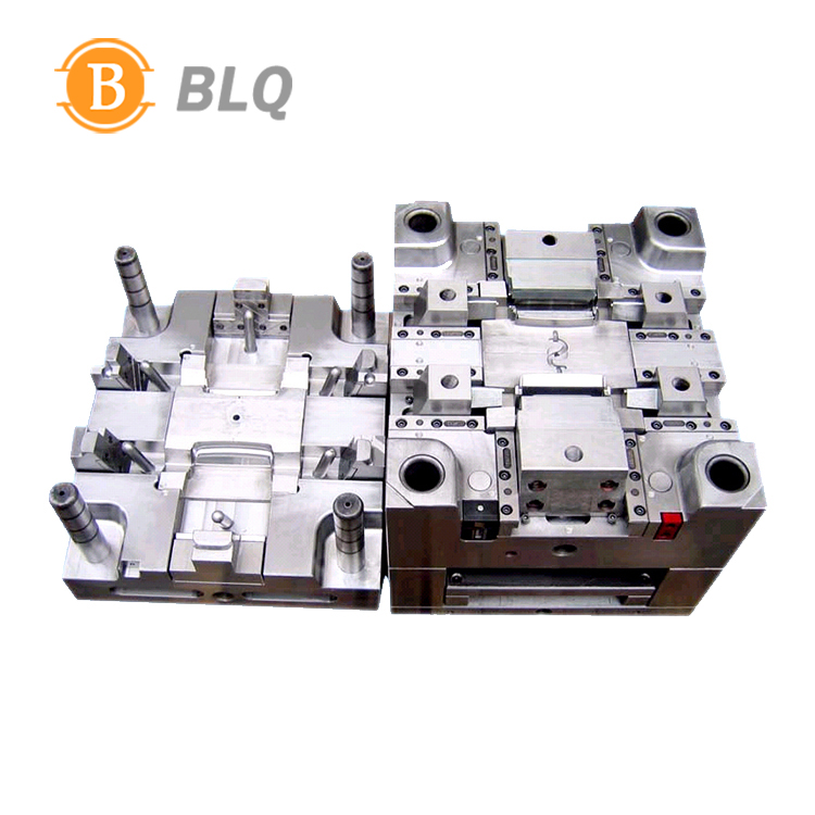 Cheap Plastic Injection Mold and Molding Spare Parts with NAK80 S136H MoldBase