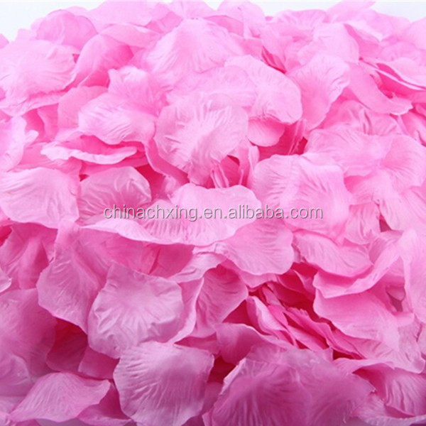 Home & Garden Artificial & Dried Flowers Nice Top Quality 100pcs Silk Rose Flower Petals Leaves Wedding Decorations Party Festival Table Confetti Decor