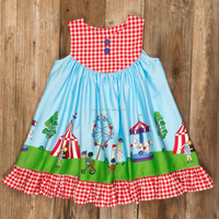 2017 summmer baby kids outfit pretty boutique clothing sets wholesale Independence holidays fourth of july dress