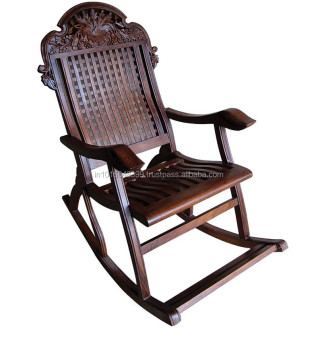 wooden rocking chair rck0008