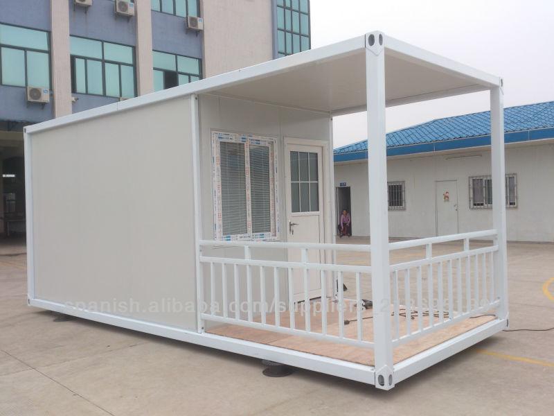 Casas prefabricadas de contenedores para la vida hotel for Contenedores de oficina