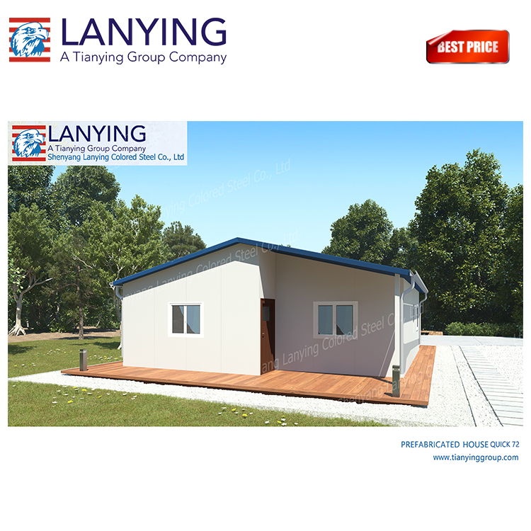 Factory directly availability portable house prices with sandwich panel materials Steel structure houses
