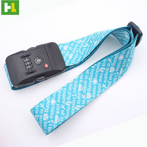 Fashion luggage tag strap luggage strap wheels with handle