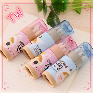 Hot Sale Stationery Japanese Color Pencils For Kids Sweet Constellation Girl Pencil Drawing Pen Color Pencils Set 12