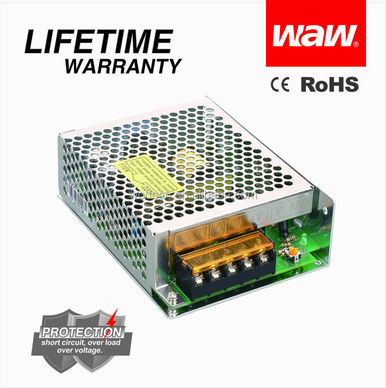 Constant voltage 40W 5V S-40 LED driver with CE ROHS