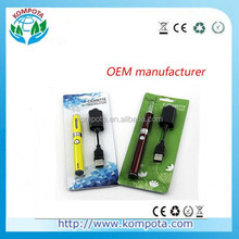 Wholesale - EGO-EVOD Starter Kit Blister Card + USB Rechargable EVOD Battery 650mAh 900mAh 1100mAh MT3 electronic cigarettes