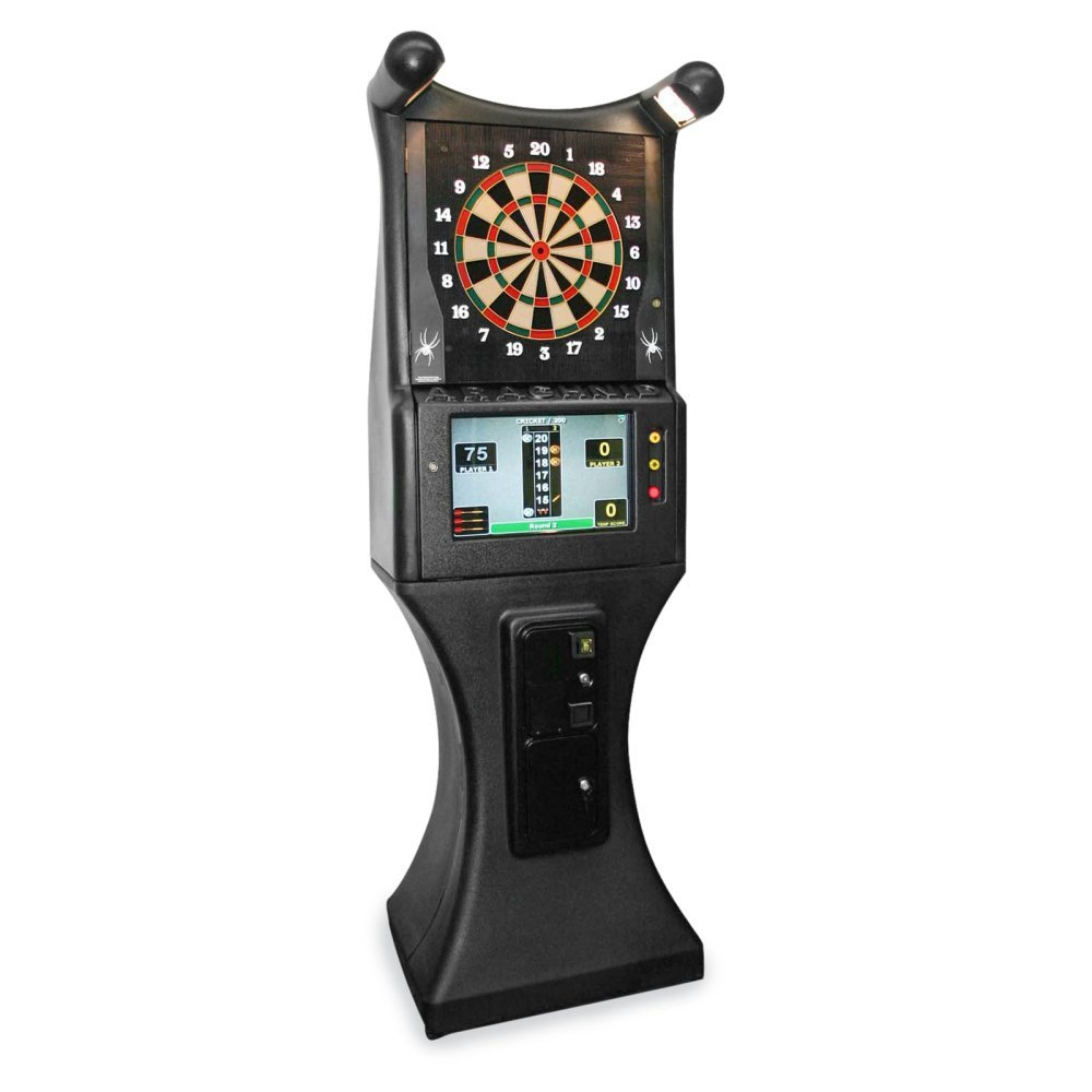 Arachnid Galaxy II Commercial Grade Arcade Electronic Dart Board Complete Set - Reconditioned