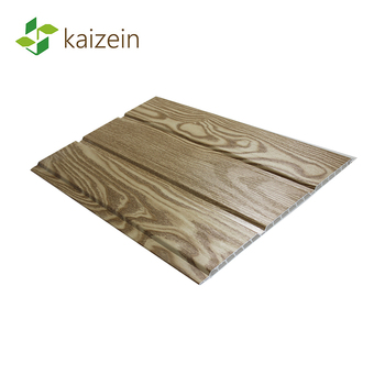 30cm wide wooden finish pvc ceiling plastic wall panelling for pvc hollow soffit