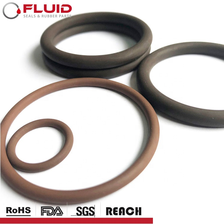 O-Ring FKM FPM Aflas fepm TFE/P VT GLT TFEP AS568Seals Gummi O ring