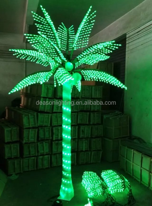 Light Up Palm Trees Buy Led Palm Tree Palm Tree Led