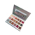 Private label high pigment eyeshadow 18 color holographic eyeshadow palette