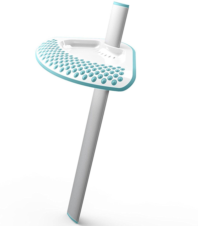 Get Quotations · Shower Sidekick (Teal)   Portable Adjustable Shower Shaving  Stand   Shaving Ledge   Foot