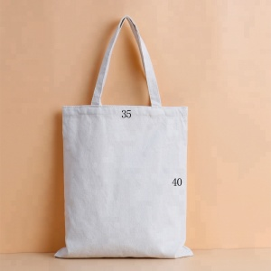 Custom Free Sample Retails Cotton Canvas Shopping Tote Bag