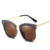 2018 OEM women vintage cateye style sunglasses with metal PC frame TAC mirrored lenses