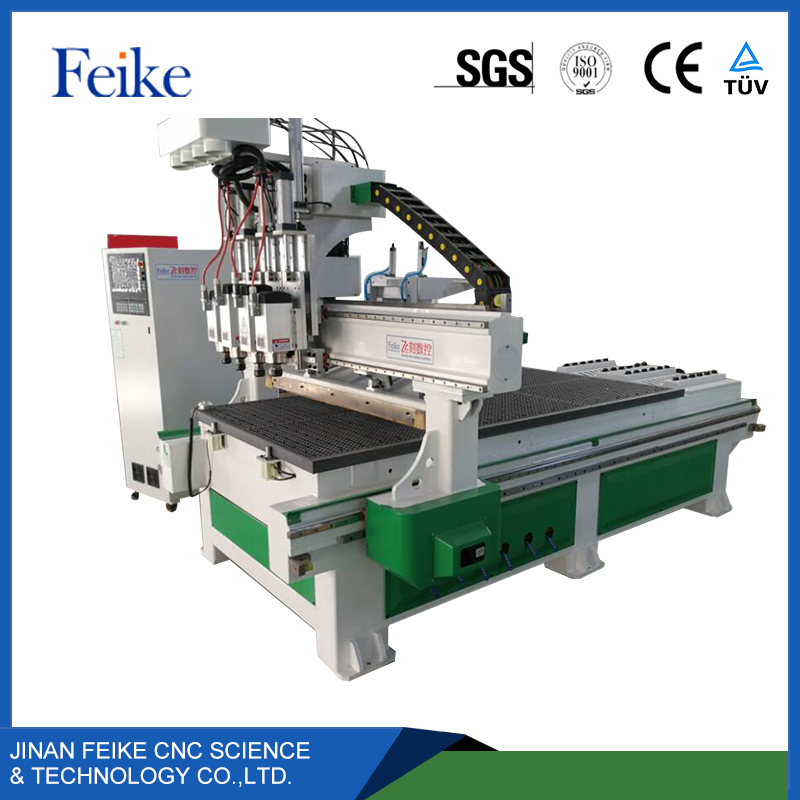 Easy operate rotary attached 4 axis cnc router machine / wood cnc router 1325 / cnc wood craving machine in stock