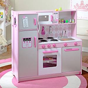 Buy Kidkraft Argyle Pink Play Kitchen Set With 60 Pc Food Set