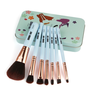 2019 new design high quality makeup brushes makeup brush tool package soft brush professional makeup tools/set of 7