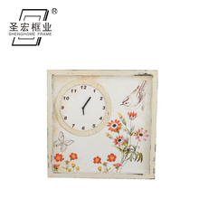 Antique Wooden wall clock modern design