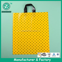 Wholesale biodegradable plastic tote promotion bag for advertising and sale