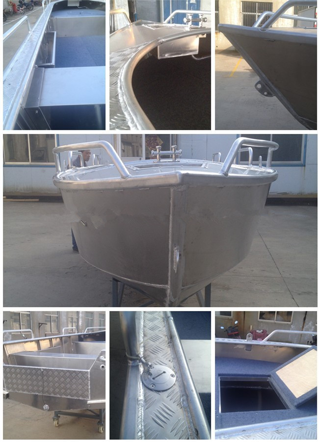 10ft Welded Aluminum Fishing aluminum used rescue boats for sale