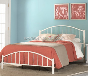 Modern concise Iron bed for children 1.2 1.5 1.8 m