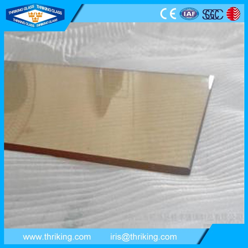 Clear or black heat resistance ceramic glass for fireplace