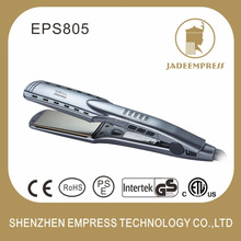 Factory outlets wholesale titanium hair crimping iron hair straightener 2 in 1 multifunctional hair style tools EPS805