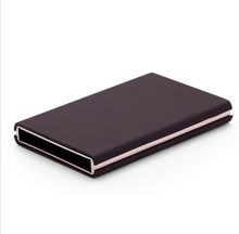Wedacrafts New Model Pu Leather RFID Credit Card Holder