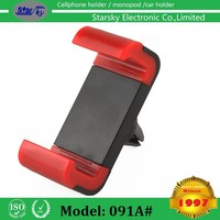 Universal car windshield/dashboard mobile phone holder adjustable air